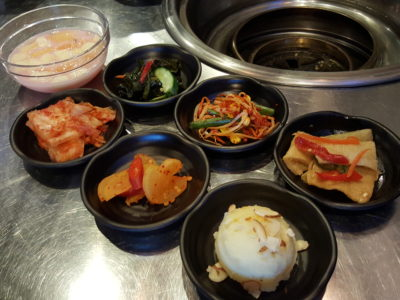 One Two Kitchen Korean BBQ & Restaurant at Kim Tian Road - Complimentary Starters