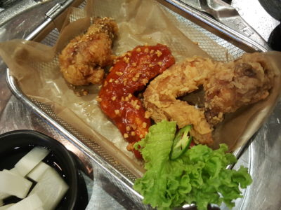 One Two Kitchen Korean BBQ & Restaurant at Kim Tian Road - Korean Fried Chicken Combo ($23 for 10 pcs)
