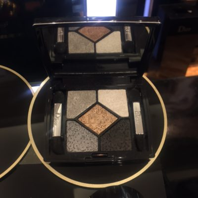 High Tea Beauty Workshop By Dior At Isetan Scotts - Dior 2016 Christmas eyeshadows