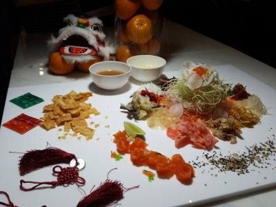 The Carvery Celebrates Chinese New Year 2017 - Golden Eight Treasures Yusheng