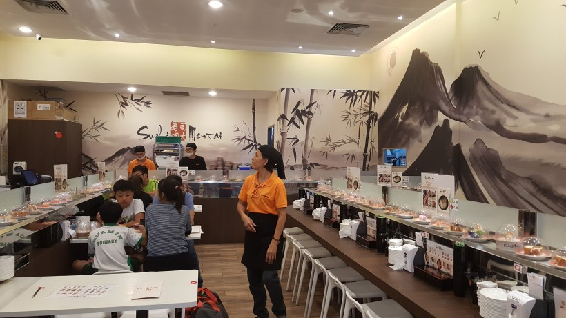 Sushi Mentai At Junction Nine In Yishun, Singapore - Interior
