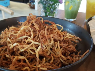 Wildseed Cafe & Poppy Flora Studio At Park Lane - Super Thin Curly Fries ($11)