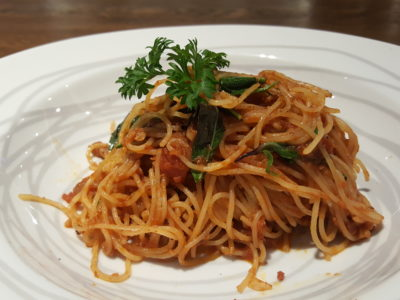 Greyhound Cafe Singapore At Paragon - Spaghetti with Thai Anchovy ($25)