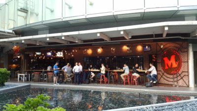 Morganfield's @ Suntec, Home of Sticky Bones - Outdoor Seats