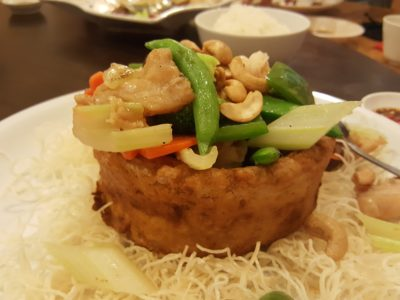 Lian Eng Hwa Restaurant, A Time Honoured Teochew Restaurant At Havelock - Assorted Yam Basket ($22)