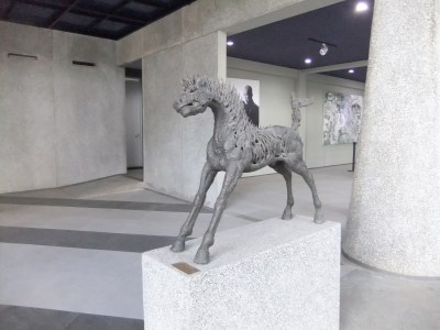 NuArt Sculpture Park at Bandung, Indonesia - More horse indoor
