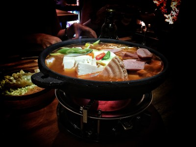 Hansul Korean Dining Bar At Tanjong Pagar - Budae Jjigae (S$25++)