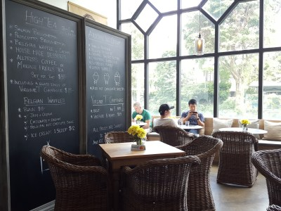 House of AnLi Bistro At Tanglin Mall, Homely Interior - From the entrance of Bistro