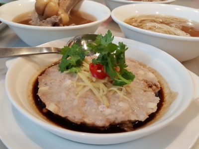 Founder Bak Kut Teh Re-visit For Its New Dishes At Hotel Boss - Steam Minced Meat 蒸肉饼 ($6.80)