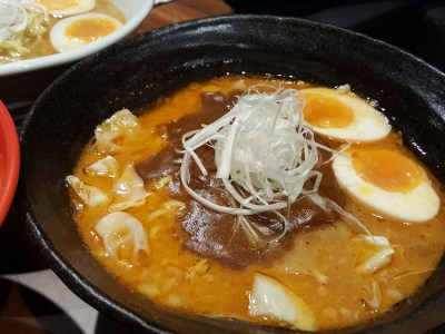 Jimoto-Ya At China Square Central Offering Hokkaido Ebi-Tonkatsu Ramen by Michelin-Starred Chef Nobumasa - Ebi Curry Ramen ($16.50)