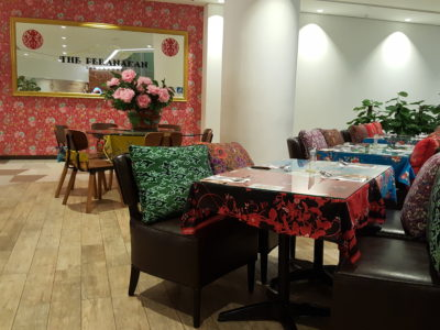 The Peranakan Restaurant At Claymore Connect - Another view of Dinning Area