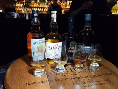 South Beach Avenue, The D-Place To Be For Everyone - Quaich Bar, Flavours of Single Malt tasting set (Price ranges from S$45 for 4 tasting portions)