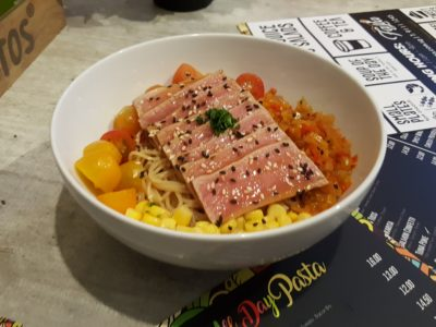 South Beach Avenue, The D-Place To Be For Everyone - Fasta, Tuna Poke ($14)