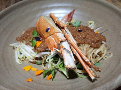 South Beach Avenue, The D-Place To Be For Everyone - Amoury, Lobster Satay Capellini ($29.50)