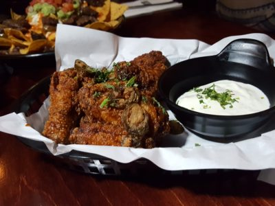 South Beach Avenue, The D-Place To Be For Everyone - Vatos, Honey Tequila Chicken Wings ($18)
