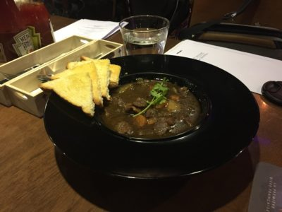 Celebrating St Patrick's Day Street Festival 2017 With specially-created Guinness-infused And Green' Dishes And Drinks - Irish lamb stew ($18 net)