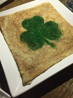 Celebrating St Patrick's Day Street Festival 2017 With specially-created Guinness-infused And Green' Dishes And Drinks - Lucky Crêpe ($5+)