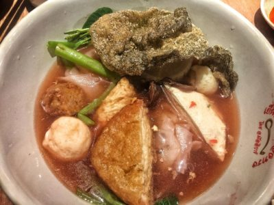 Yentafo Kruengsonge @ Kallang Wave Mall, 'yen ta fo' Specialist Introduces New Menu – Yentafo Kruengsonge Soup