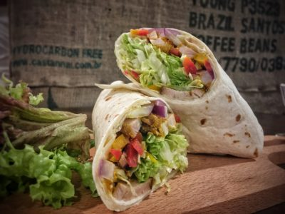 O'Coffee Club Xpress @ Raffles Xchange, O'Coffee Club Launches 'Grab & Go' Concept – Chicken Tikka Wrap