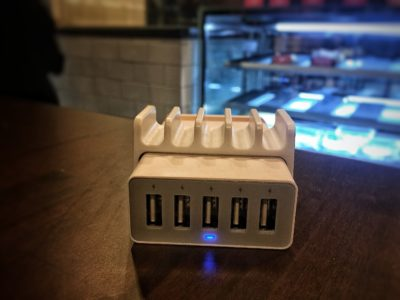 O'Coffee Club Xpress @ Raffles Xchange, O'Coffee Club Launches 'Grab & Go' Concept – USB Charging Points