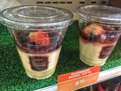 O'Coffee Club Xpress @ Raffles Xchange, O'Coffee Club Launches 'Grab & Go' Concept – Raspberry Panna Cotta