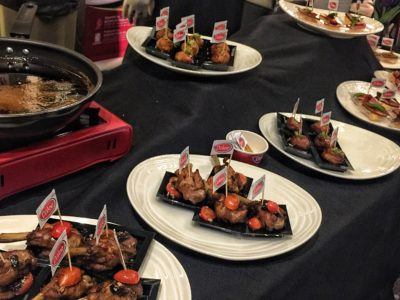 World Gourmet Summit 2017 – Awards of Excellence Presentation Ceremony and Opening Reception - Fried Meats