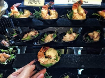 World Gourmet Summit 2017 – Awards of Excellence Presentation Ceremony and Opening Reception - Tiger Prawn by Indoguna Ocean Gems