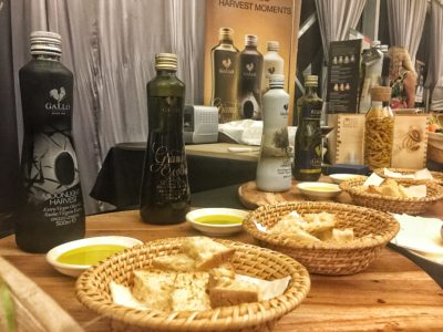 World Gourmet Summit 2017 – Awards of Excellence Presentation Ceremony and Opening Reception - Bread and Olive Oil by Gallo