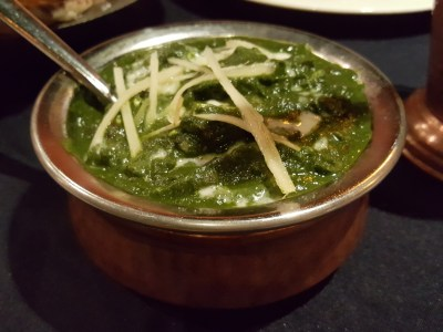 Kebabs on the Grille 印度小厨 At Jinqiao, Pudong - Palak Paneer (RMB 65)