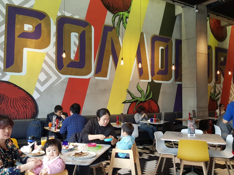 Pizza Marzano At Chatime, Pudong, Shanghai, China - Interior, another view