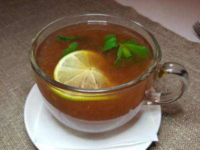 Element Fresh At Jin Qiao, Offering Healthier Option Western Cuisine And Yet Delish - Mint Citrus Tea