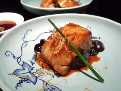 Hakkasan At The Bund, Awarded 2nd Best Restaurant A In China Restaurant Week Spring Winners' Edition 2017 - Grilled silver cod in Sha Cha sauce 沙茶焗银鳕鱼