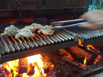 The Carvery's Hearth & Heat BBQ At Park Hotel Alexandra - Close-up of grilling