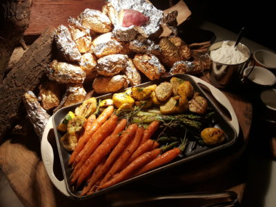 The Carvery's Hearth & Heat BBQ At Park Hotel Alexandra - Grilled Vegetables