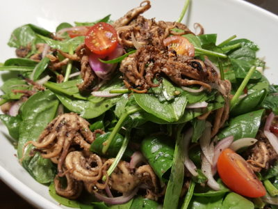 The Carvery's Hearth & Heat BBQ At Park Hotel Alexandra - Grilled octopus salad