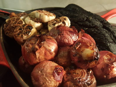 The Carvery's Hearth & Heat BBQ At Park Hotel Alexandra - Grilled Onions and Garlic