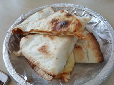 Pizzaboy At WIS Offering Affordable Halal Pan Pizza With Delivery - Quesadillas ($6.90)