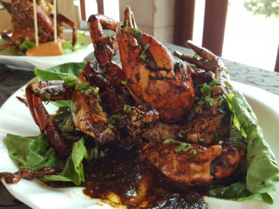 Festival of Crab At Ah Hoi's Kitchen, Offering 10 Different Styles - Sarawak Black Pepper Crab