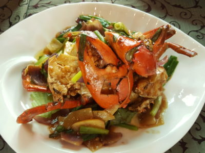 Festival of Crab At Ah Hoi's Kitchen, Offering 10 Different Styles - Stir-fried Onion & Ginger Crab