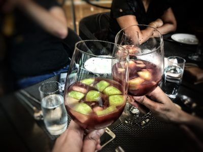 Punjab Grill Presents A Night of Music and Food for the Soul for World Gourmet Summit 2017 - Welcome Drink (Sangria)