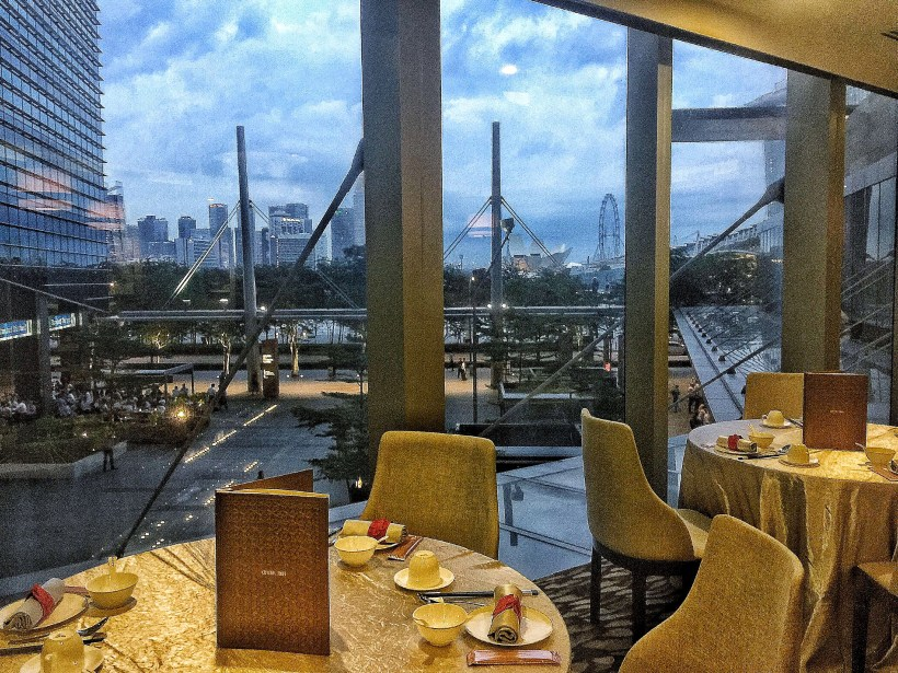 Crystal Jade Prestige At Marina Bay Financial Centre Introduces New Dishes, Downtown Singapore – Common Dining Area