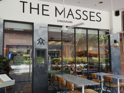 The Masses By Saveur Offering Wallet Friendly Delish Food At Beach Road - The Masses Facade