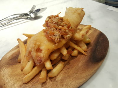 The Masses By Saveur Offering Wallet Friendly Delish Food At Beach Road - Fish & Chips ($14.90)