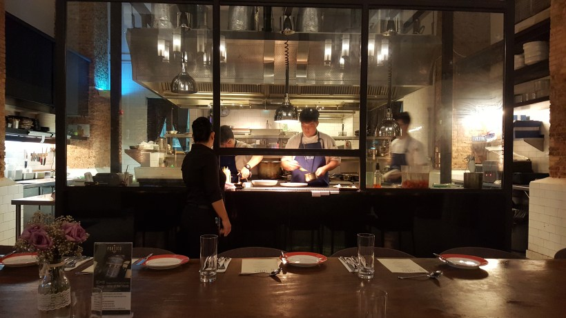 Portico Prime New Menu for 2017, Better Than Our First Visit - Open Kitchen