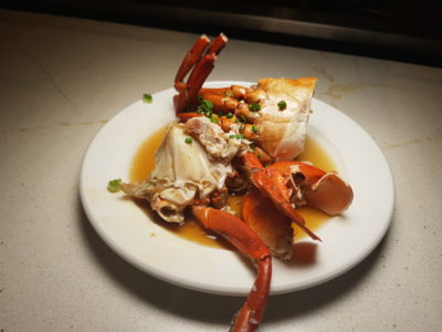 Spice Brasserie's Endless Crabs Party Dinner Buffet At Parkroyal On Kitchener – Steamed Crab with Ginger, Spring Onion in Chinese Wine