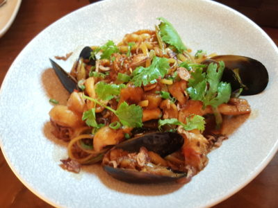 "Wine & Chef At Keong Saik Road For Quality Wine At Wallet Friendly Price - Crab Meat ""Hokkien Mee"" ($26++)"