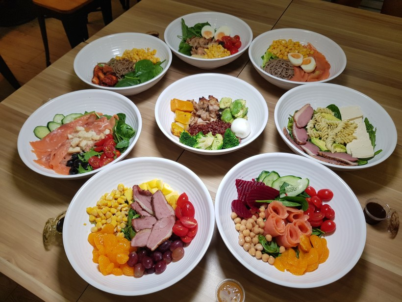 Green Croft Keeps Your Figure Slim But Your Wallet Fat With Their Salad Meals At Galaxis, One North Singapore - All Salad Bowls