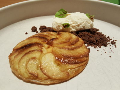 63 Espresso / 63 Celsius @ Paragon With Chic Contemporary Decor And Pretty Plating Delish Food - Apple Galette ($10)