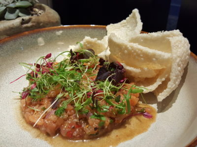 Blue Jasmine At Park Hotel Farrer Park Offering A Slice Of Thai To Little India - Larb Salmon