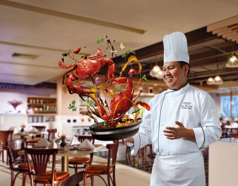 Spice Brasserie's Endless Crabs Party Dinner Buffet At Parkroyal On Kitchener – Chef Low Hoe Kiat